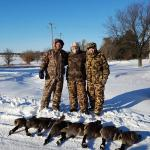 12-18-16  Real men kill geese on days like this.